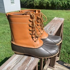 Merona | Brown Duck Boots